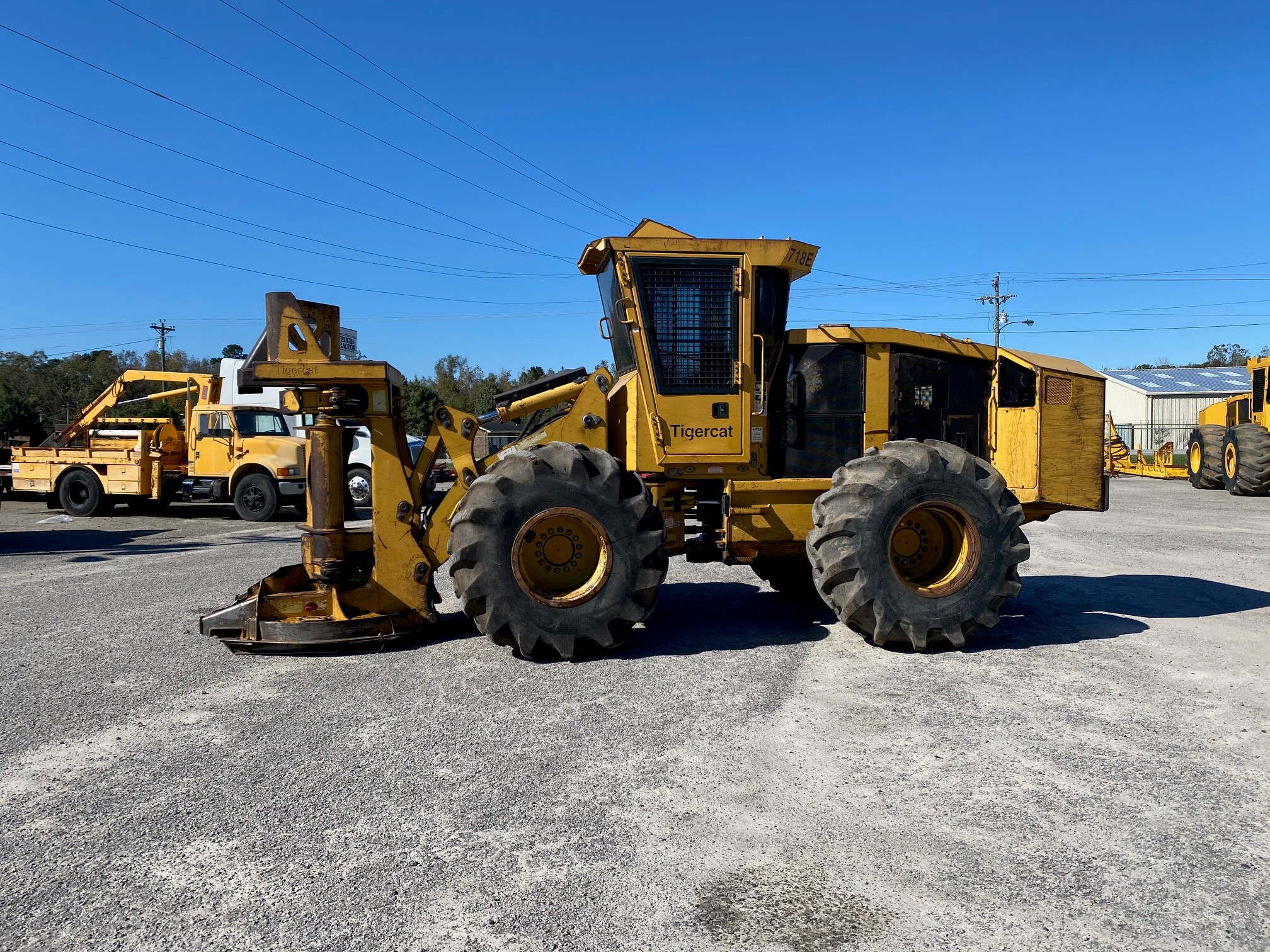2008 Tigercat 718E feller buncher for sale