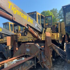 1999 Tigercat 240 SN 2400264 dismantled for Tigercat 240 used parts
